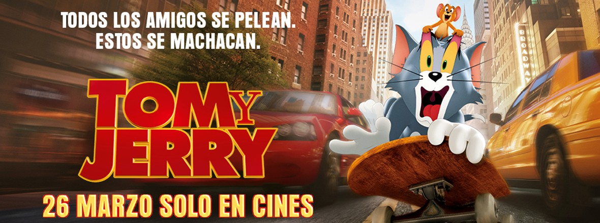F - TOM Y JERRY
